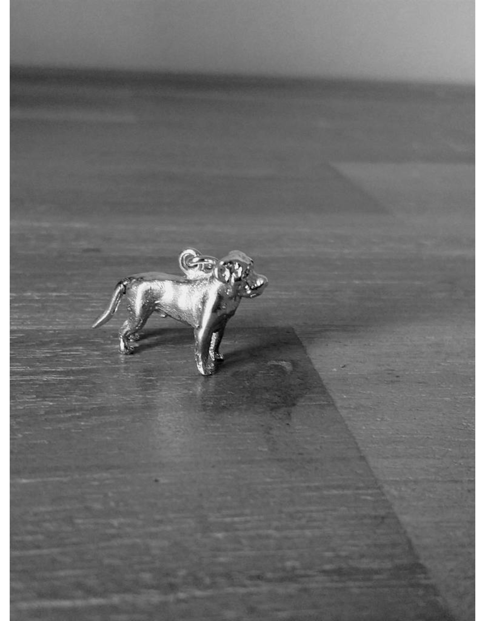 Handmade by Hanneke Weigel Sterling silver Rottweiler