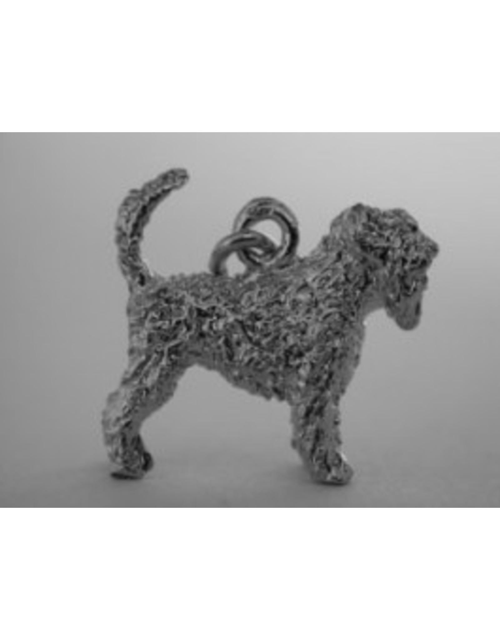 Handmade by Hanneke Weigel Zilveren Zwarte russische terrier