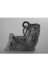 Handmade by Hanneke Weigel Sterling silver Yorkshire terrier