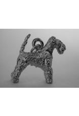 Handmade by Hanneke Weigel Sterling silver Welsh terrier