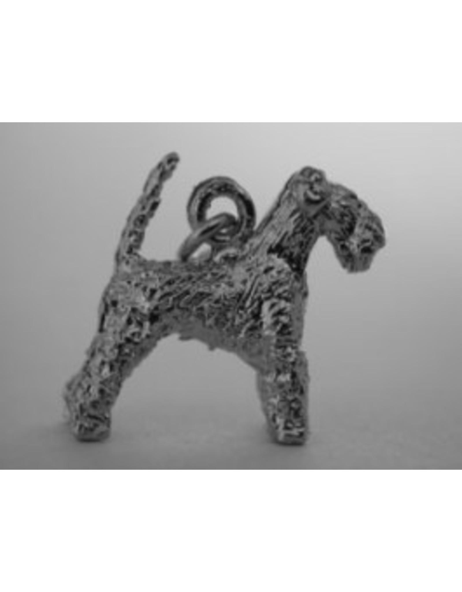 Handmade by Hanneke Weigel Zilveren Welsh terrier