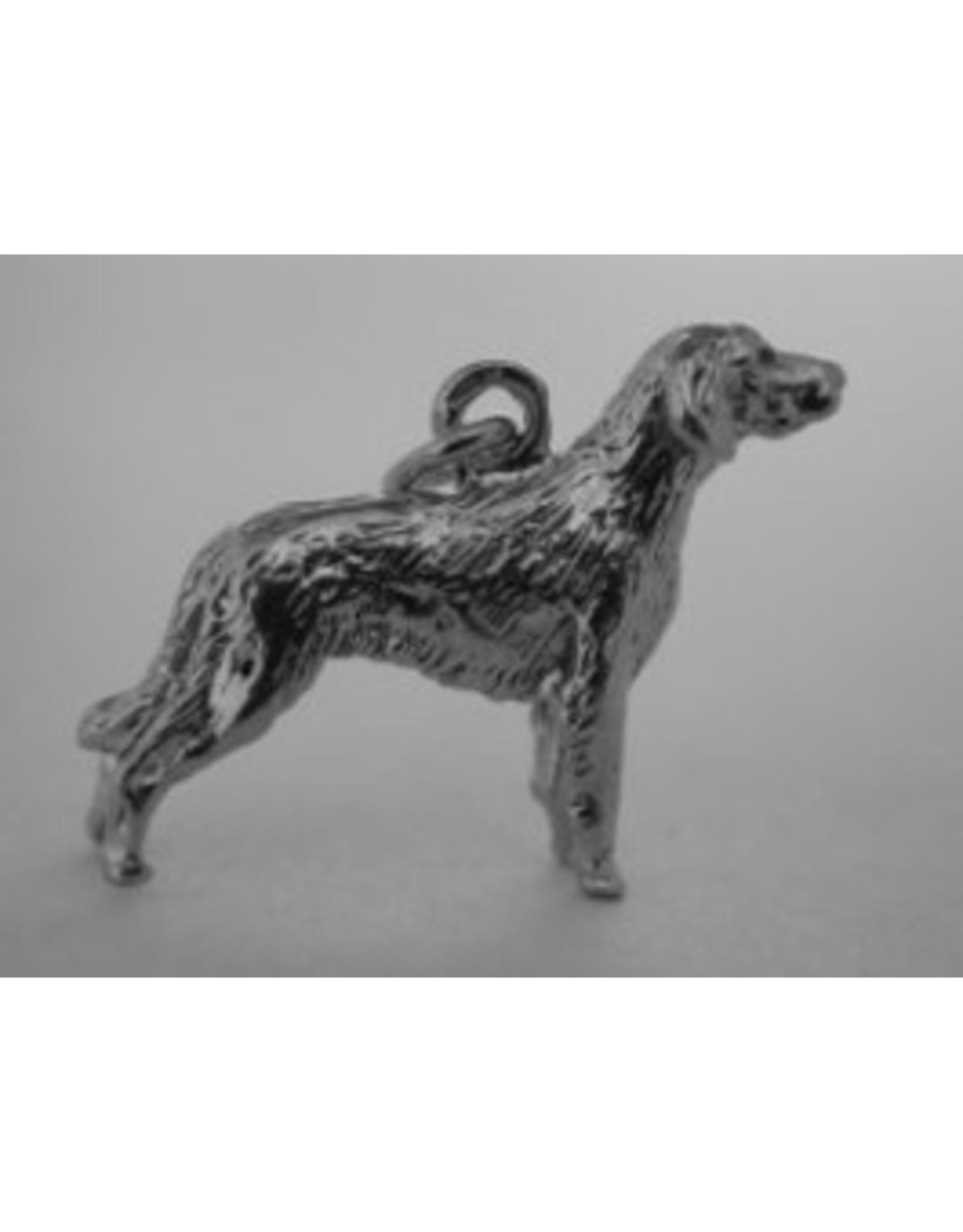 Handmade by Hanneke Weigel Sterling silver Weimaraner longhaired