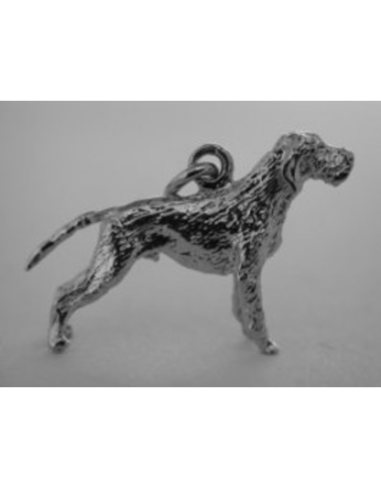 Handmade by Hanneke Weigel Sterling silver Vizsla wire haired