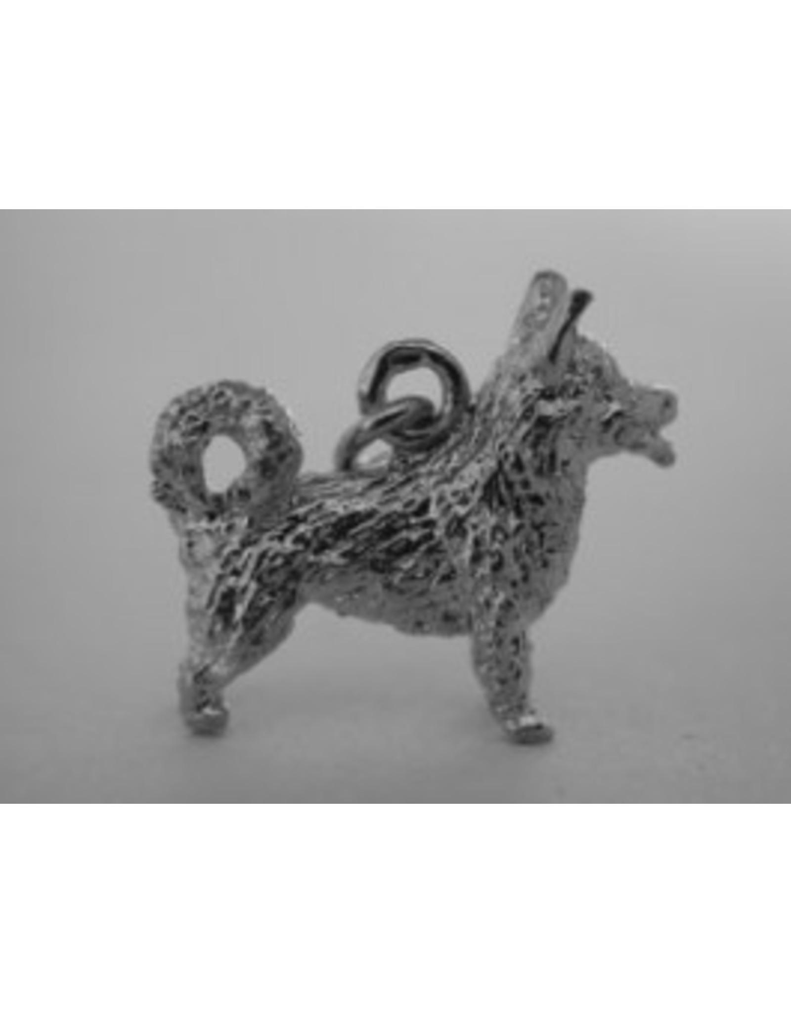 Handmade by Hanneke Weigel Sterling silver Swedisch vallhund