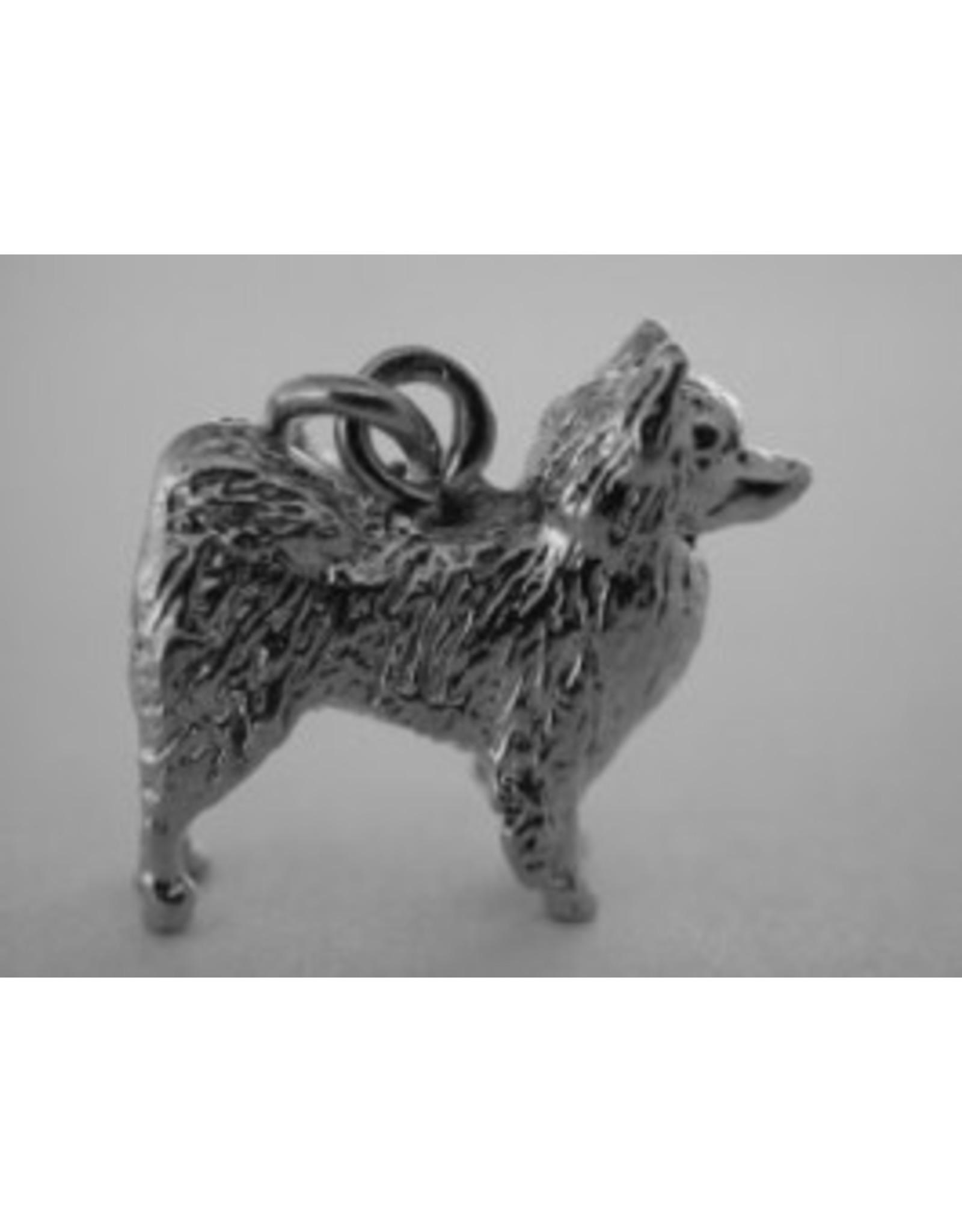 Handmade by Hanneke Weigel Sterling silver Volpino Italiano
