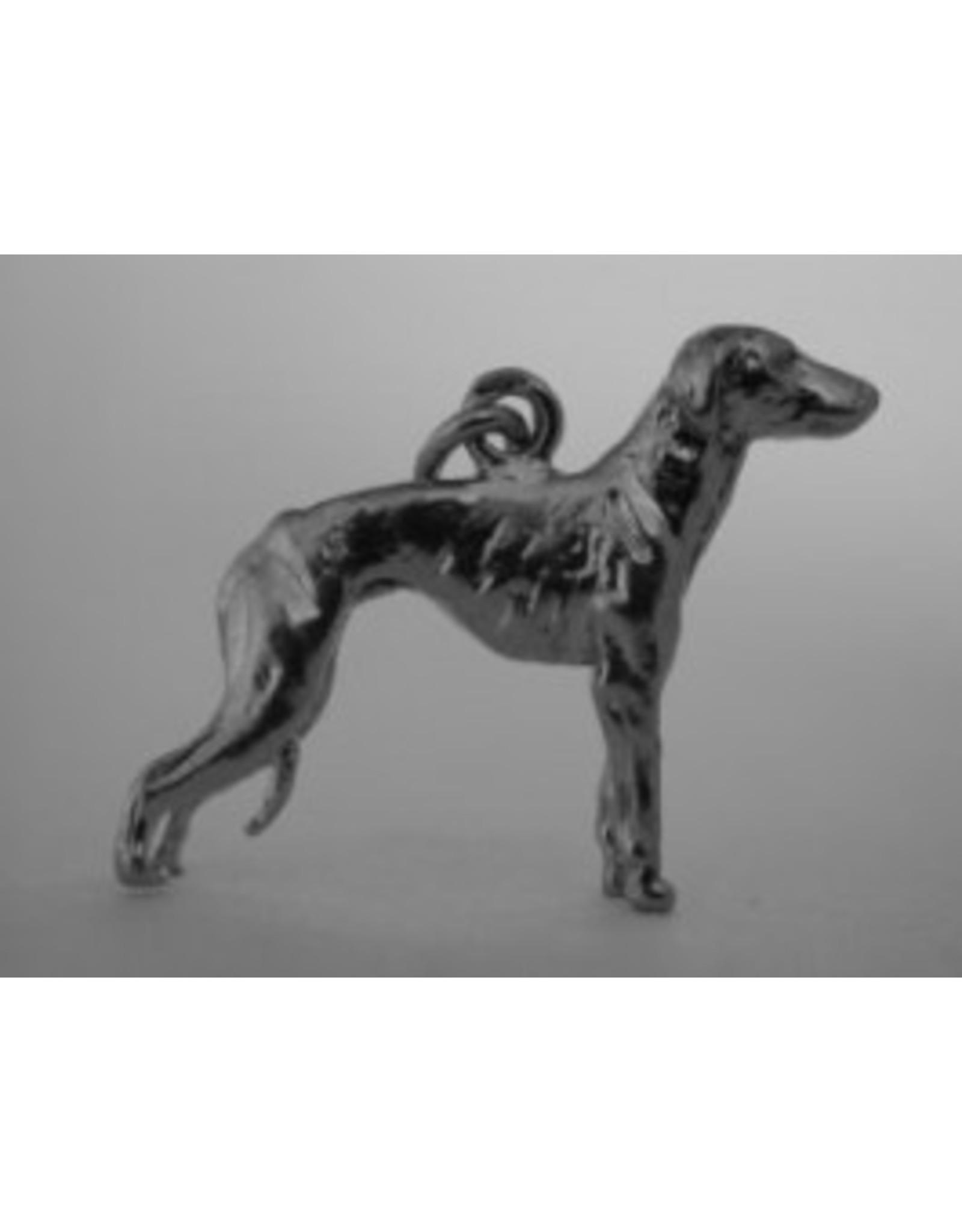 Handmade by Hanneke Weigel Sterling silver Sloughi