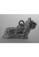 Handmade by Hanneke Weigel Sterling silver Skye terrier