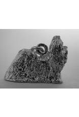 Handmade by Hanneke Weigel Sterling silver Shih tzu