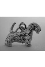 Handmade by Hanneke Weigel Zilveren Sealyham terrier