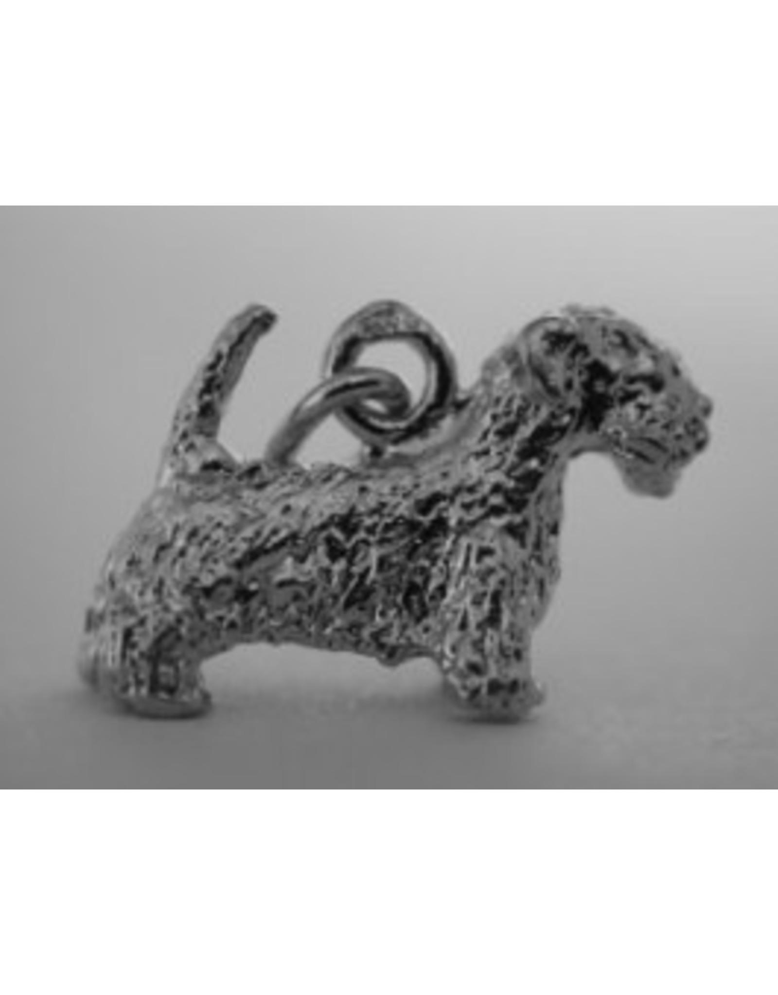 Handmade by Hanneke Weigel Sterling silver Sealyham terrier