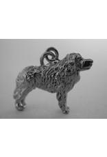 Handmade by Hanneke Weigel Zilveren Pyrenese herder