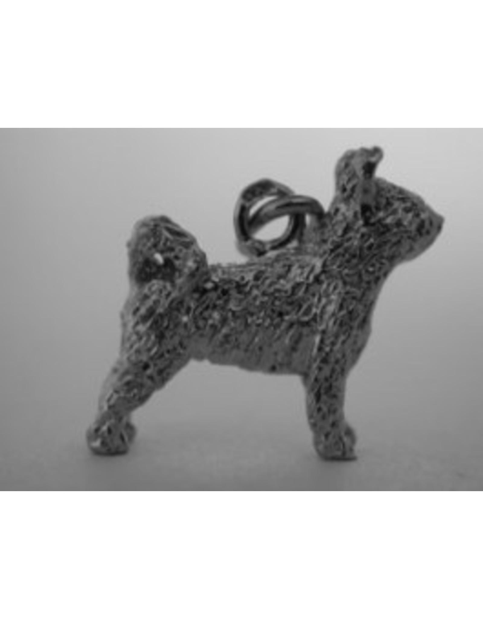 Handmade by Hanneke Weigel Sterling silver Pumi