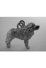 Handmade by Hanneke Weigel Sterling silver Polish tatra sheepdog podhalanski owczarek
