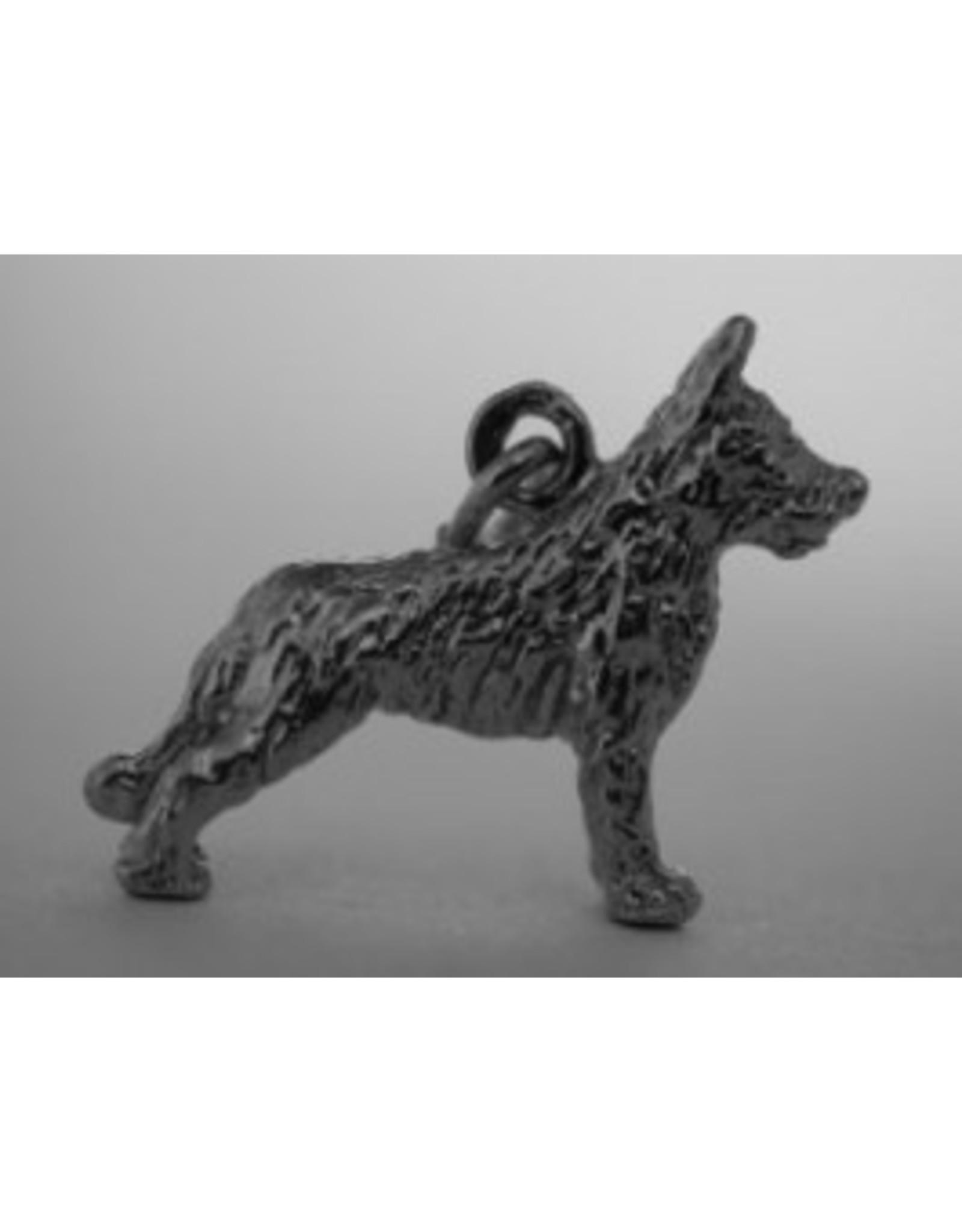 Handmade by Hanneke Weigel Zilveren Picardische herder