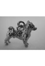 Handmade by Hanneke Weigel Zilveren Phalene nachtvlinder