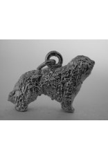 Handmade by Hanneke Weigel Sterling silver Spanish water dog