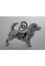 Handmade by Hanneke Weigel Zilveren Norfolk terrier