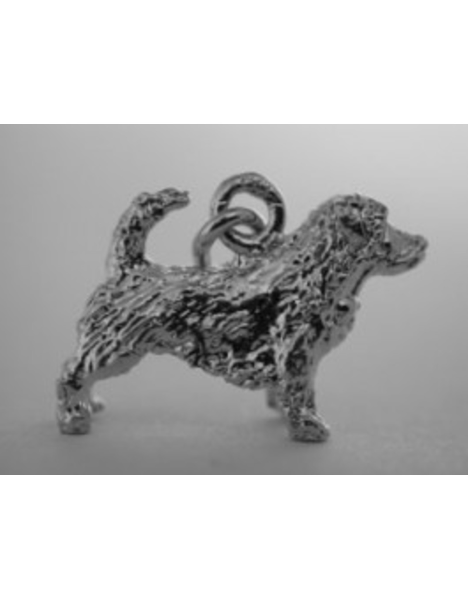 Handmade by Hanneke Weigel Sterling silver Norfolk terrier