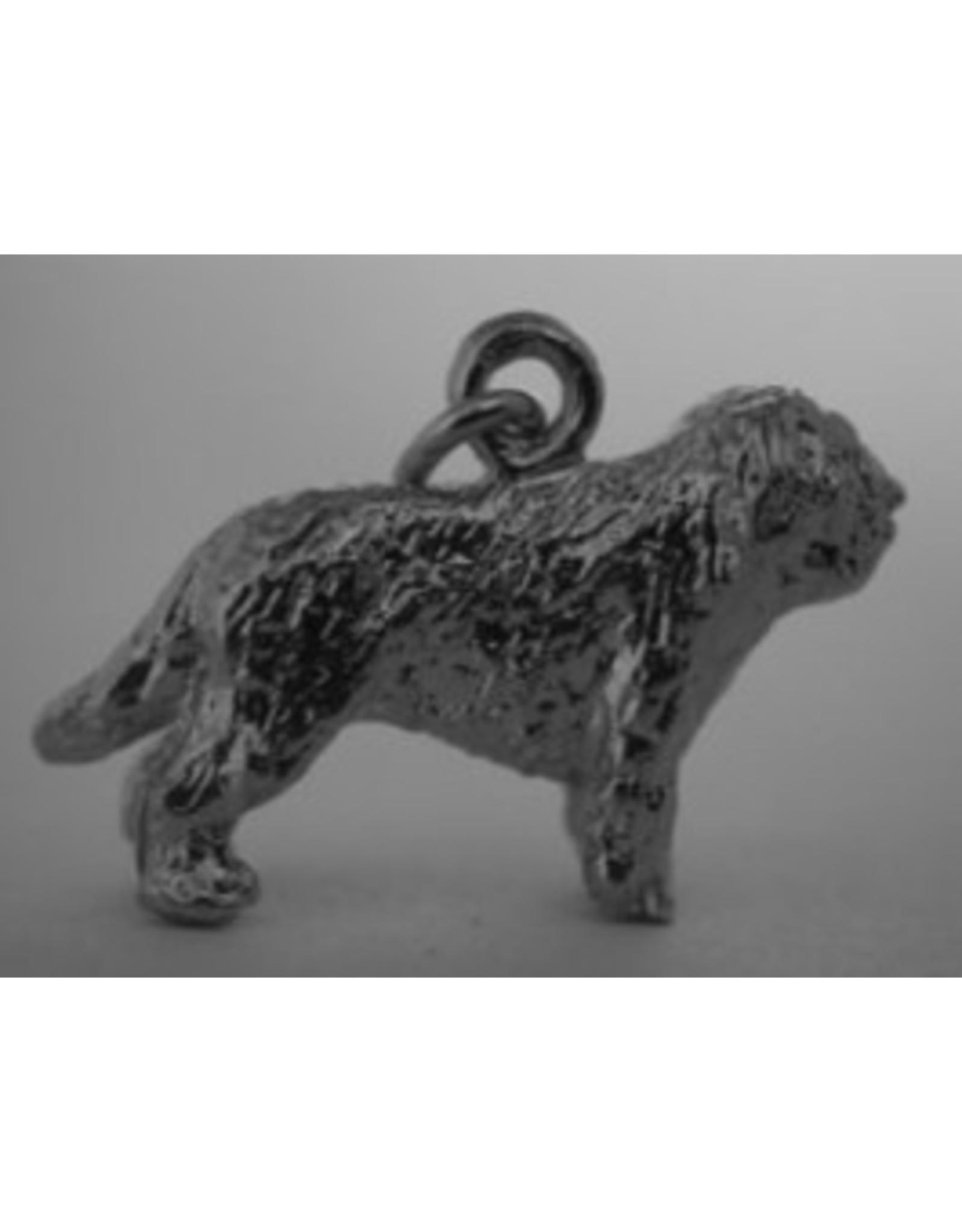 Handmade by Hanneke Weigel Sterling silver Nizziny owczarek Polish Lowland Sheepdog