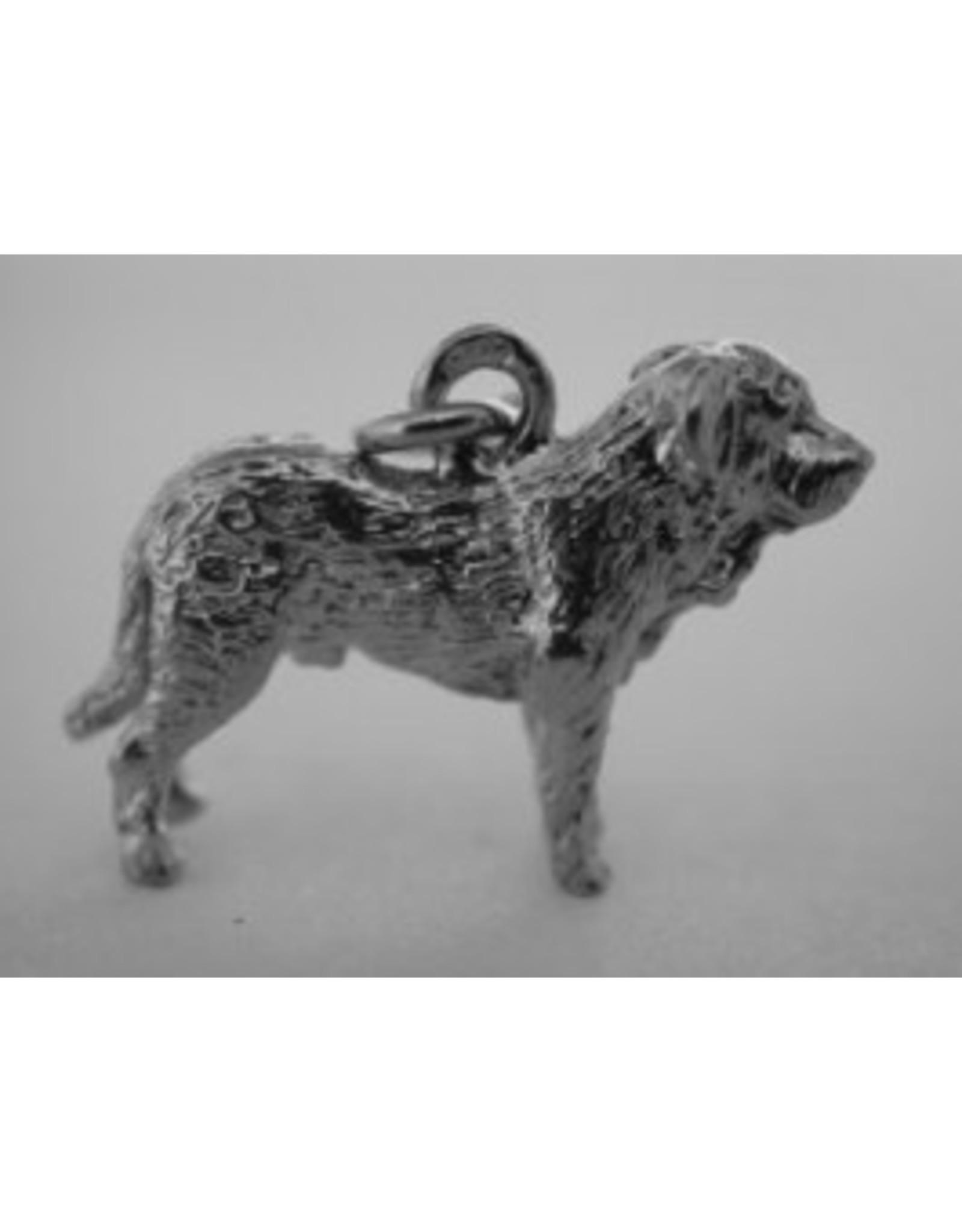Handmade by Hanneke Weigel Sterling silver Spanish mastiff