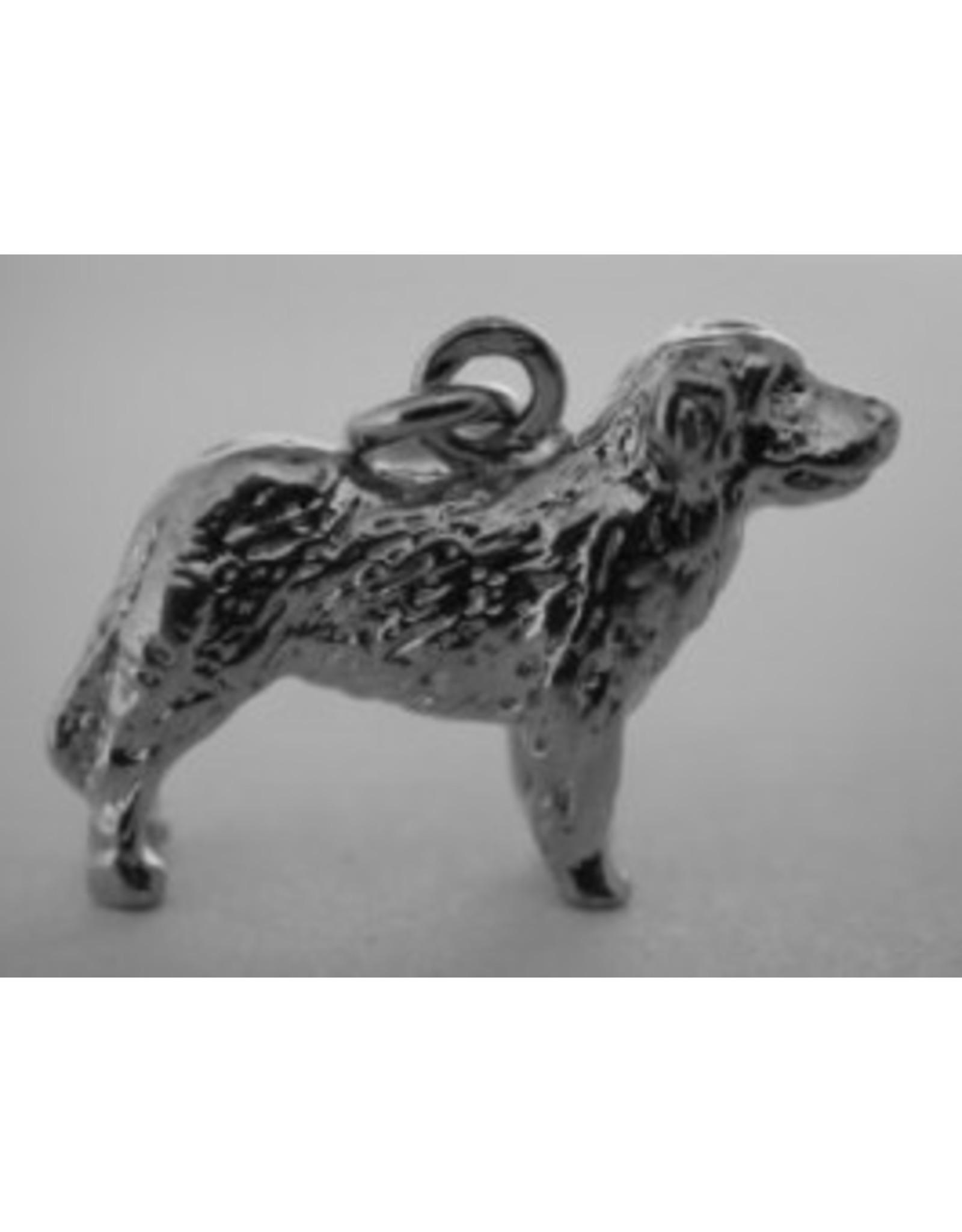 Handmade by Hanneke Weigel Sterling silver Pyrenean mastiff