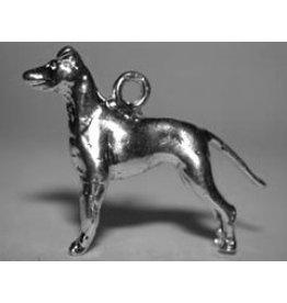 Handmade by Hanneke Weigel Manchester terrier