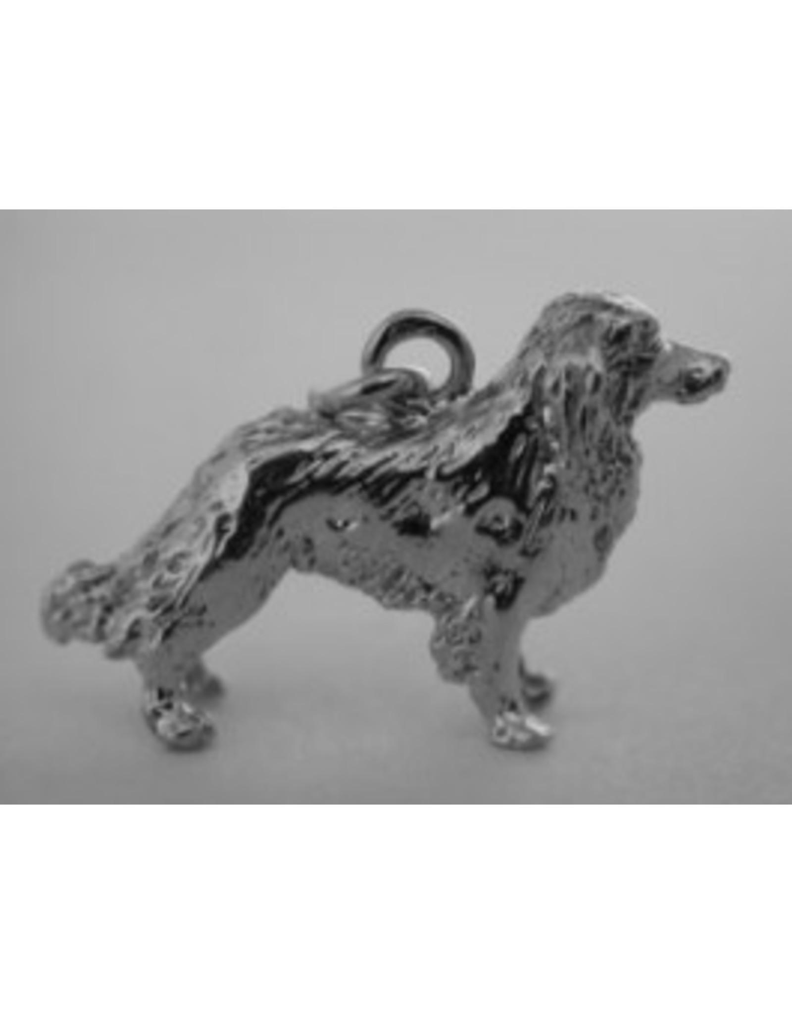 Handmade by Hanneke Weigel Sterling silver Kooikerhondje