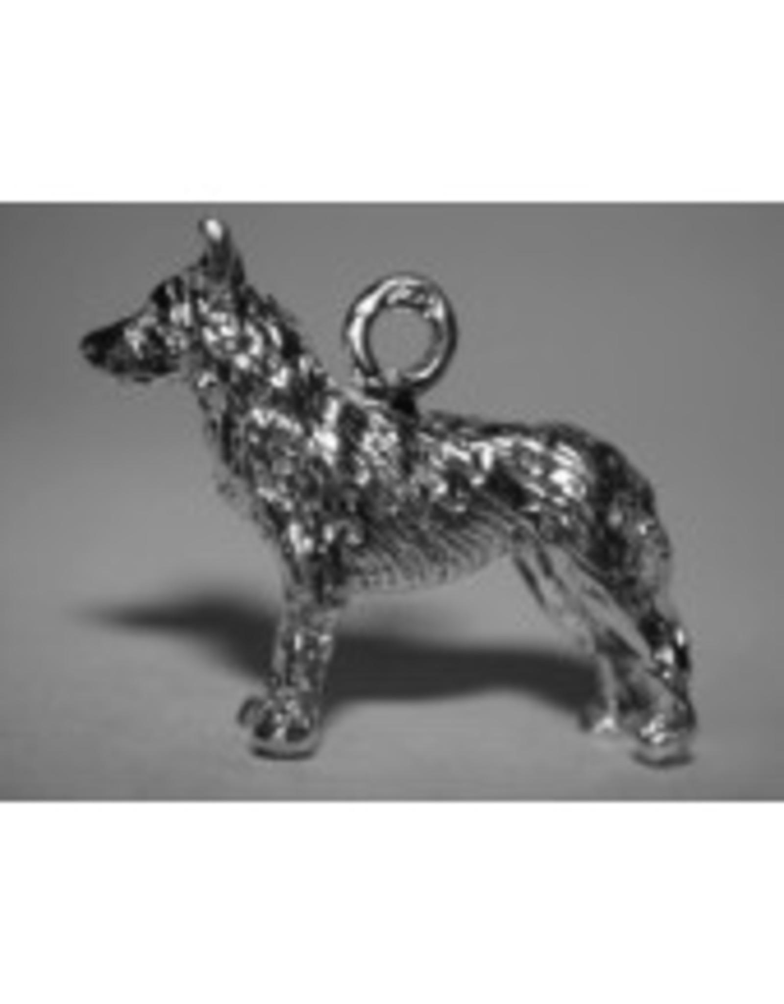 Handmade by Hanneke Weigel Sterling silver Australian kelpie