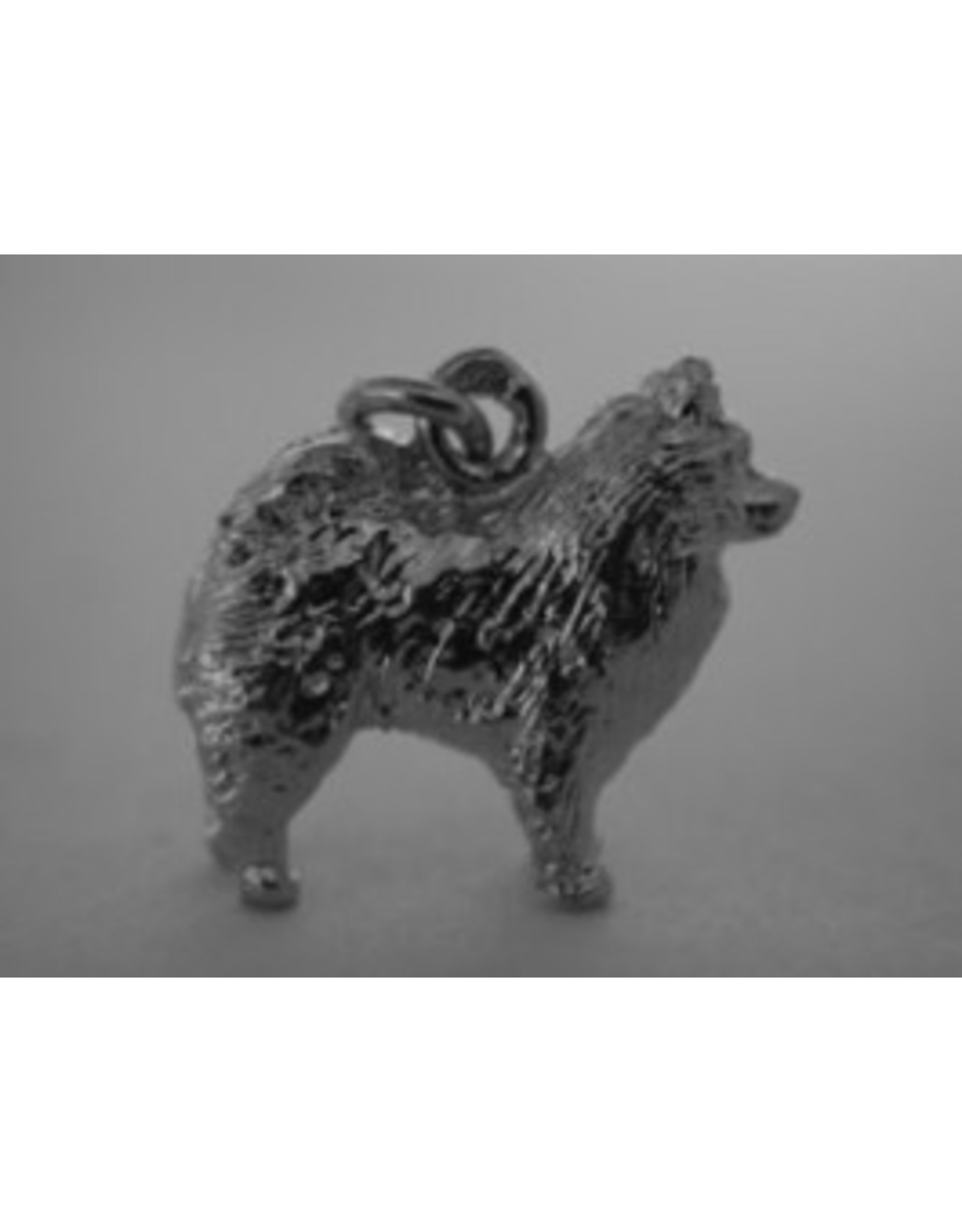 Handmade by Hanneke Weigel Sterling silver Keeshond