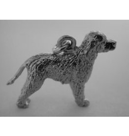 Handmade by Hanneke Weigel Irish water spaniel