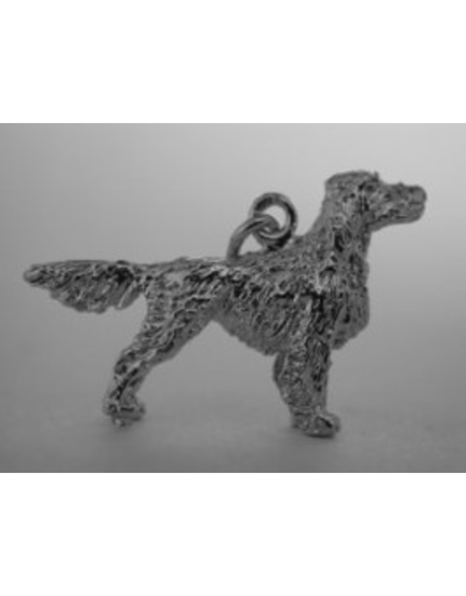 Handmade by Hanneke Weigel Sterling silver Irish setter