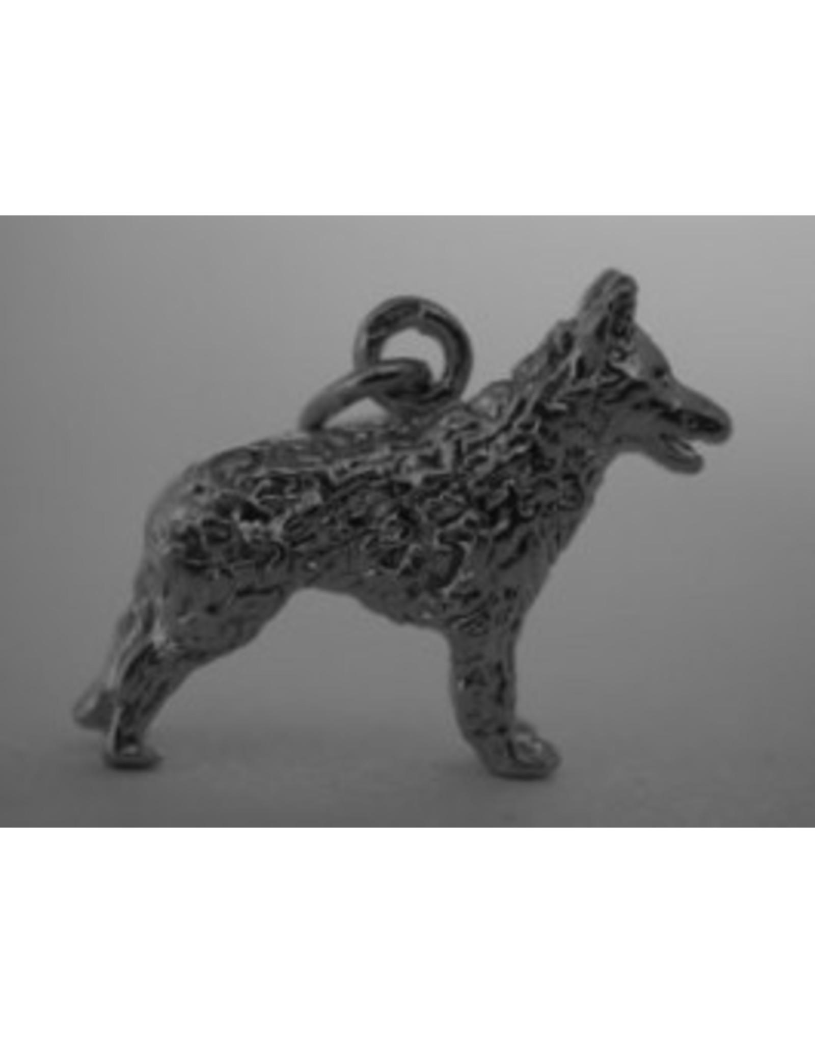 Handmade by Hanneke Weigel Sterling silverHruatski ovcar croatian sheepdog