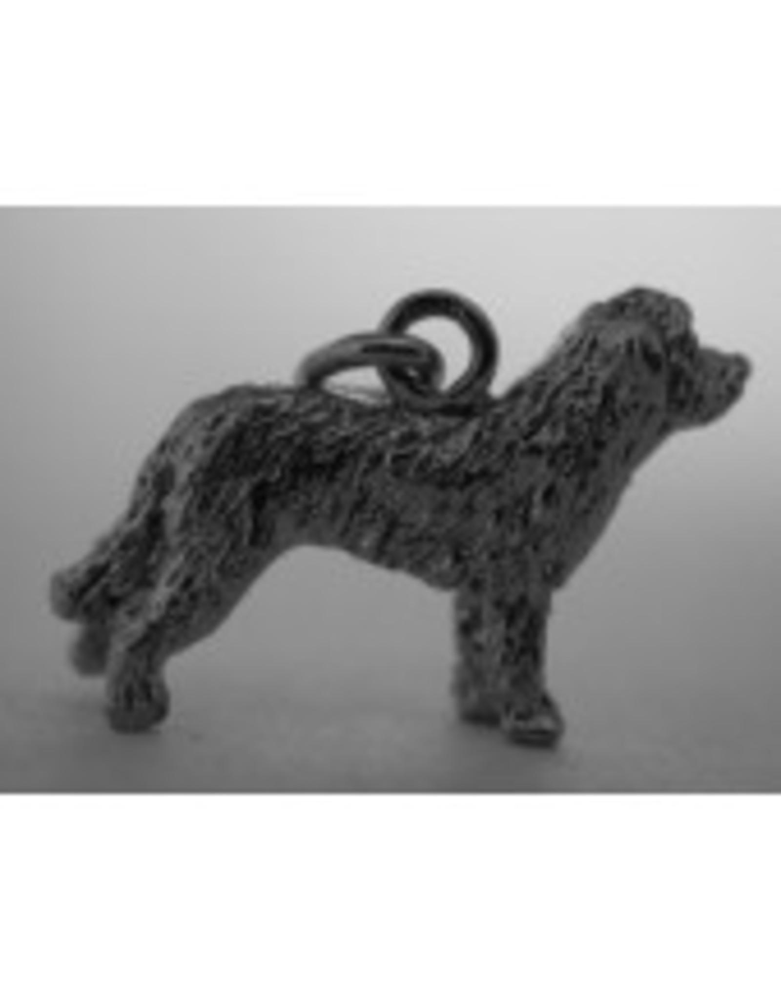Handmade by Hanneke Weigel Sterling silver Catalonian sheepdog
