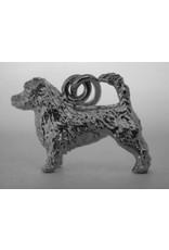 Handmade by Hanneke Weigel Sterling silver Glen of imaal terrier