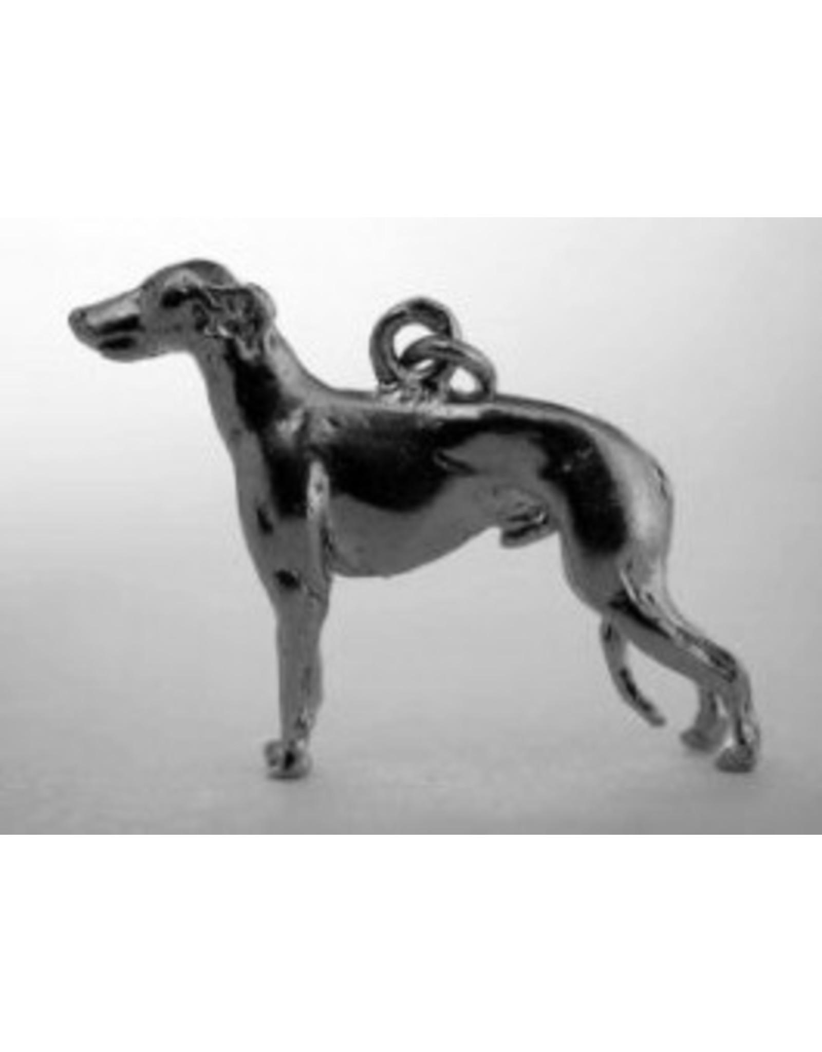 Handmade by Hanneke Weigel Sterling silver Galgo espanol