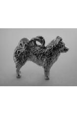 Handmade by Hanneke Weigel Sterling silver Eurasier
