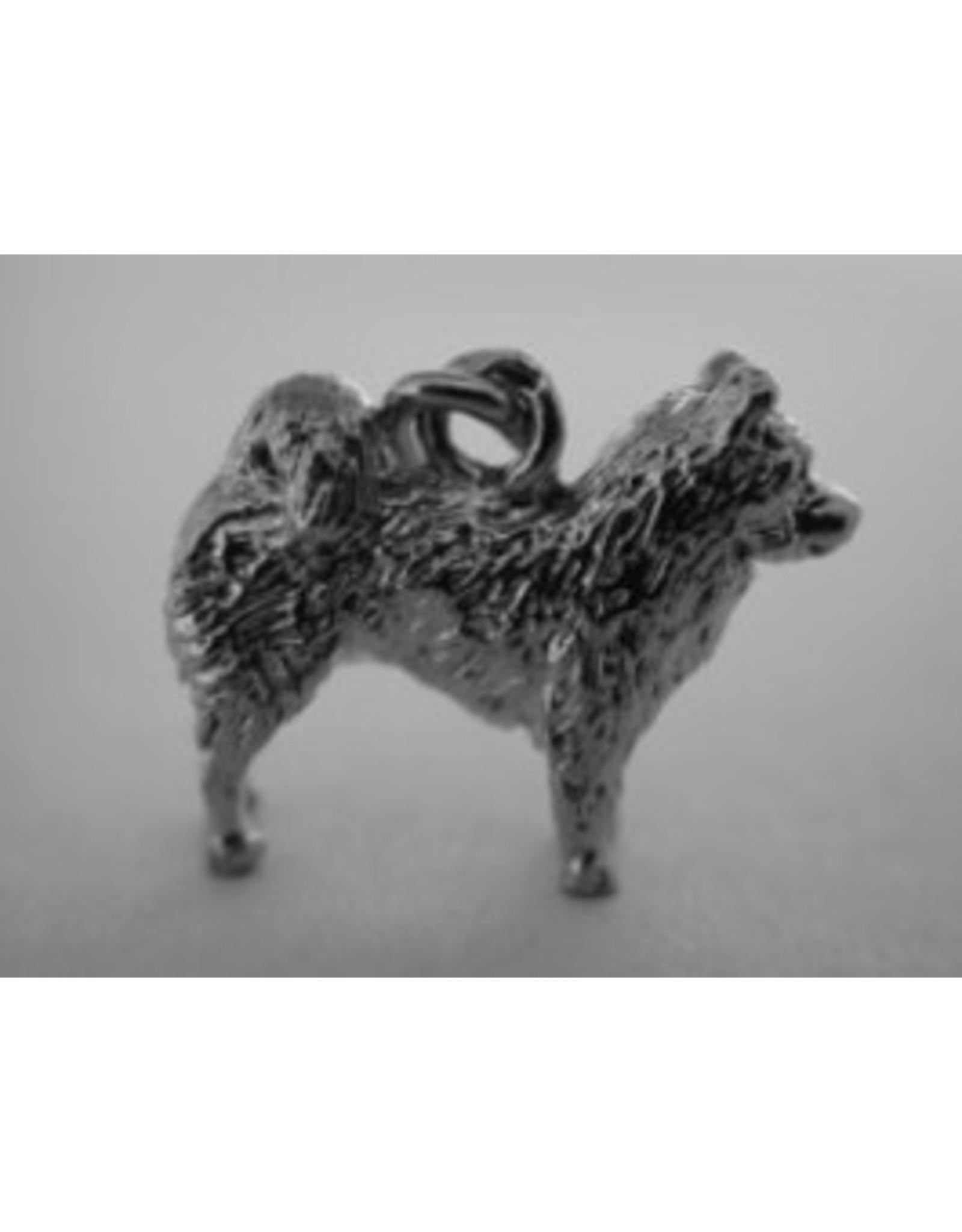 Handmade by Hanneke Weigel Zilveren Eurasier