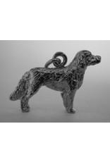 Handmade by Hanneke Weigel Sterling silver French spaniel