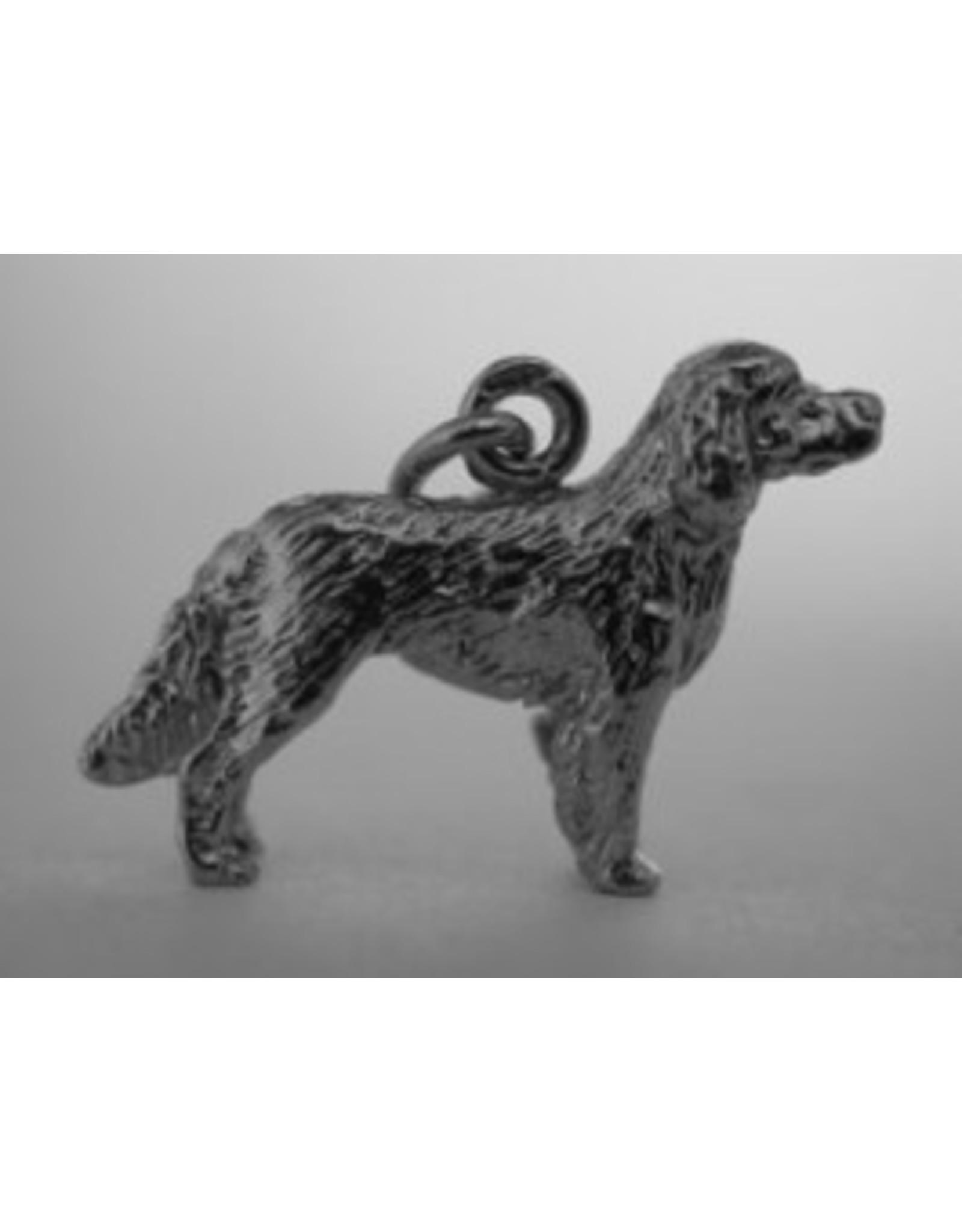 Handmade by Hanneke Weigel Zilveren Epagneul francais