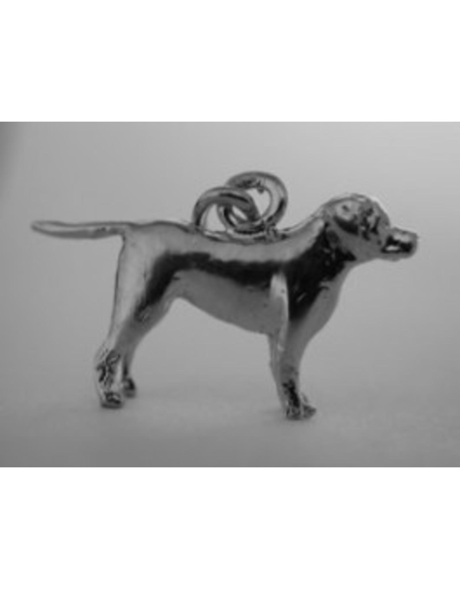 Handmade by Hanneke Weigel Sterling silver Entlebucher mountain dog