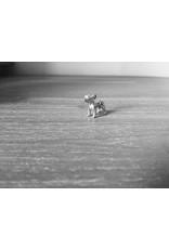 Handmade by Hanneke Weigel Zilveren Staffordshire bull terrier