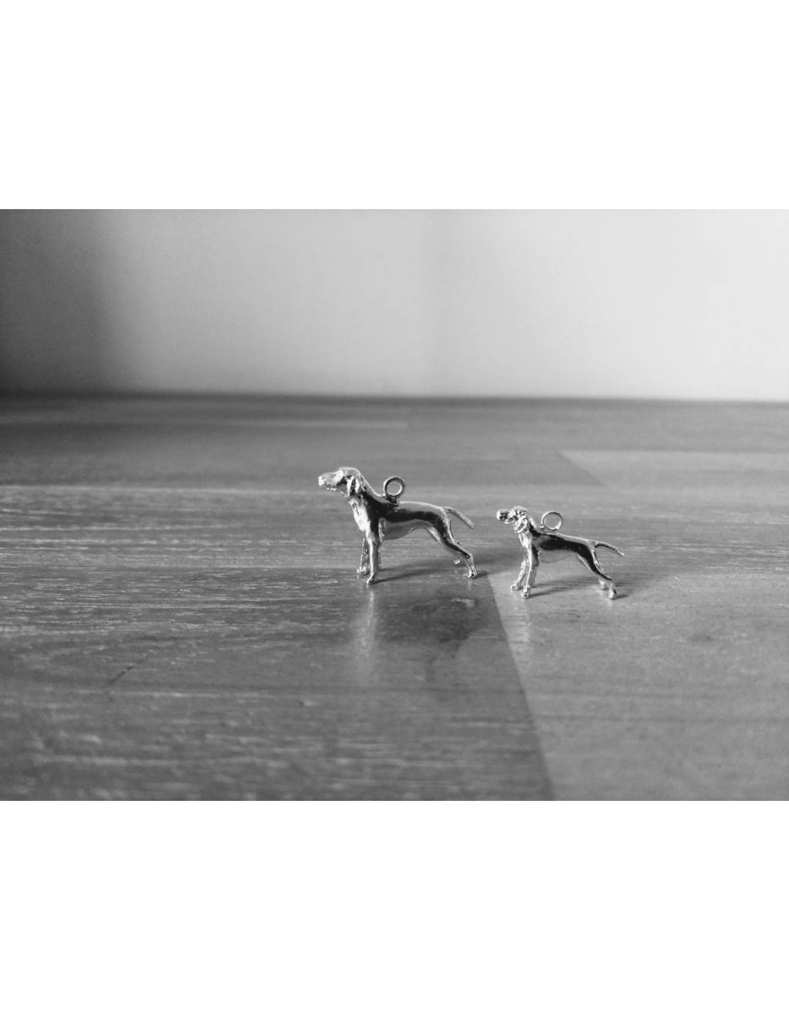 Handmade by Hanneke Weigel Sterling silver German pointer