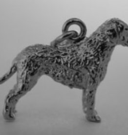 Handmade by Hanneke Weigel Curly coated retriever