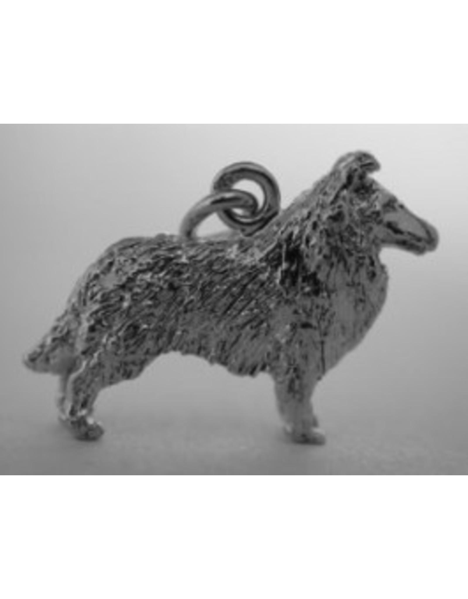 Handmade by Hanneke Weigel Sterling silver Scottish collie