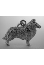 Handmade by Hanneke Weigel Sterling silver Collie long haired