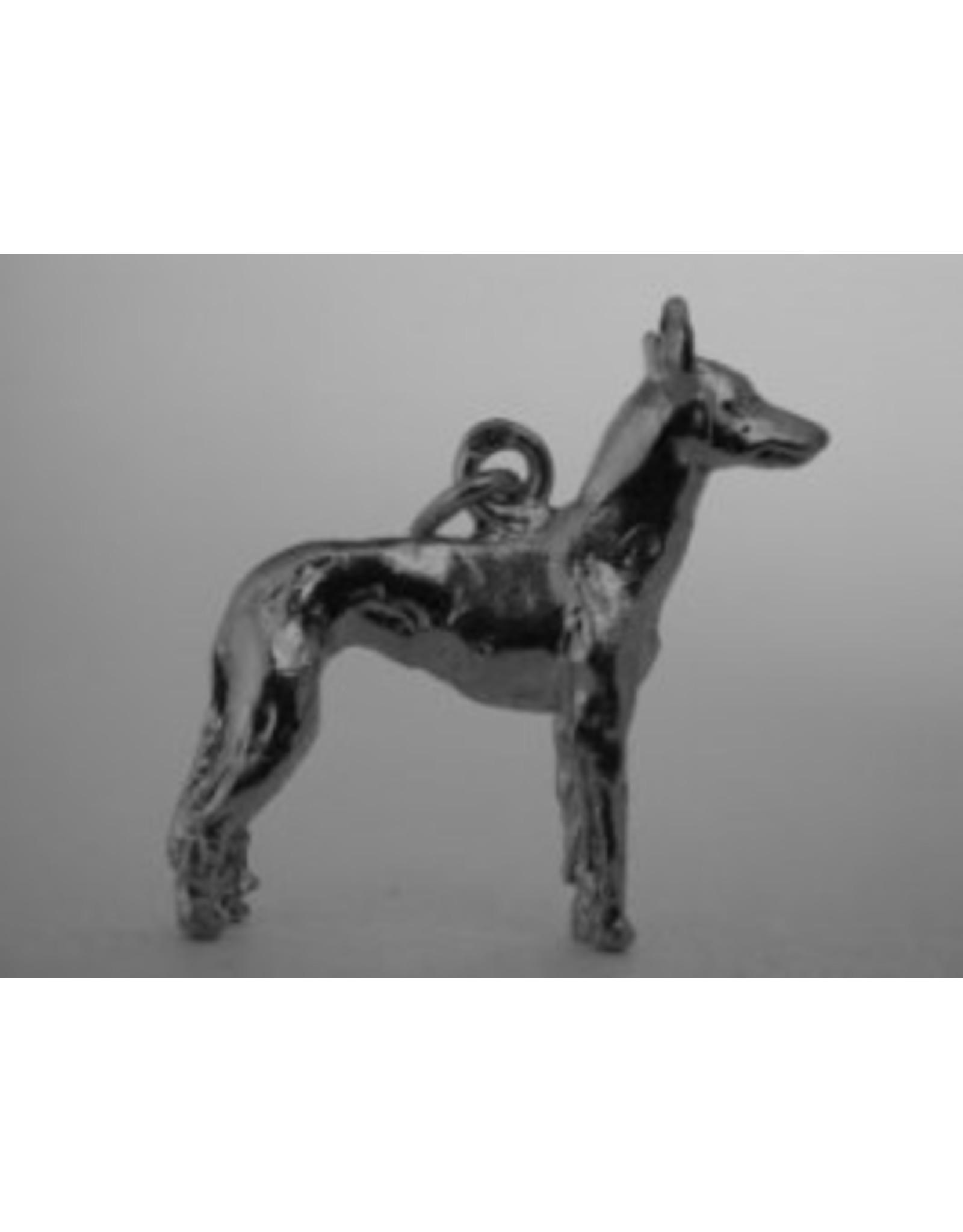 Handmade by Hanneke Weigel Sterling silver Cirneco dell´Etna