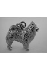 Handmade by Hanneke Weigel Sterling silver Chow chow