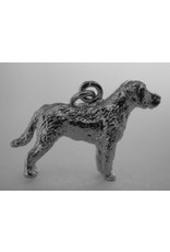 Handmade by Hanneke Weigel Sterling silver Chesapeak bay retriever