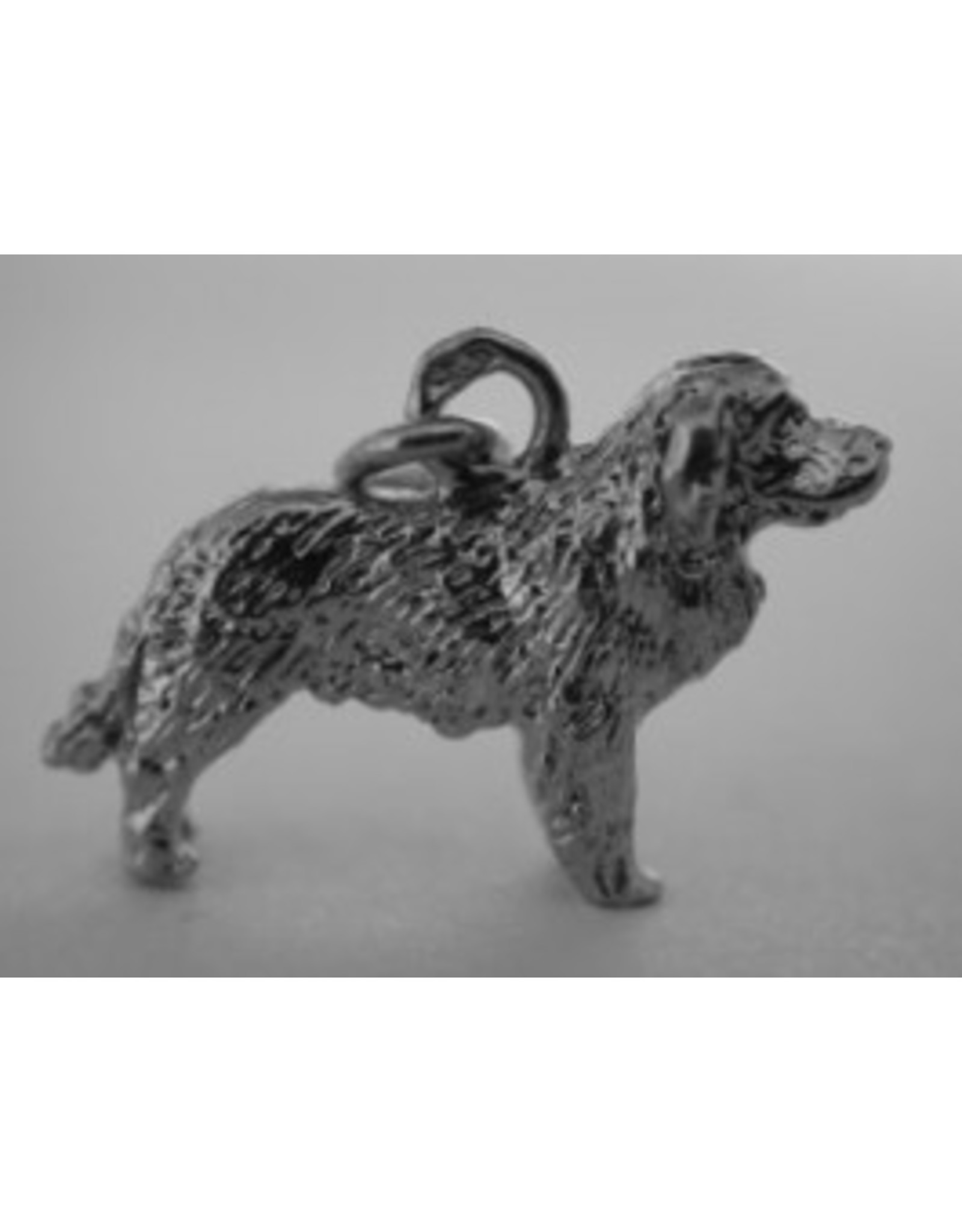 Handmade by Hanneke Weigel Sterling silver Cao da serra da estrela