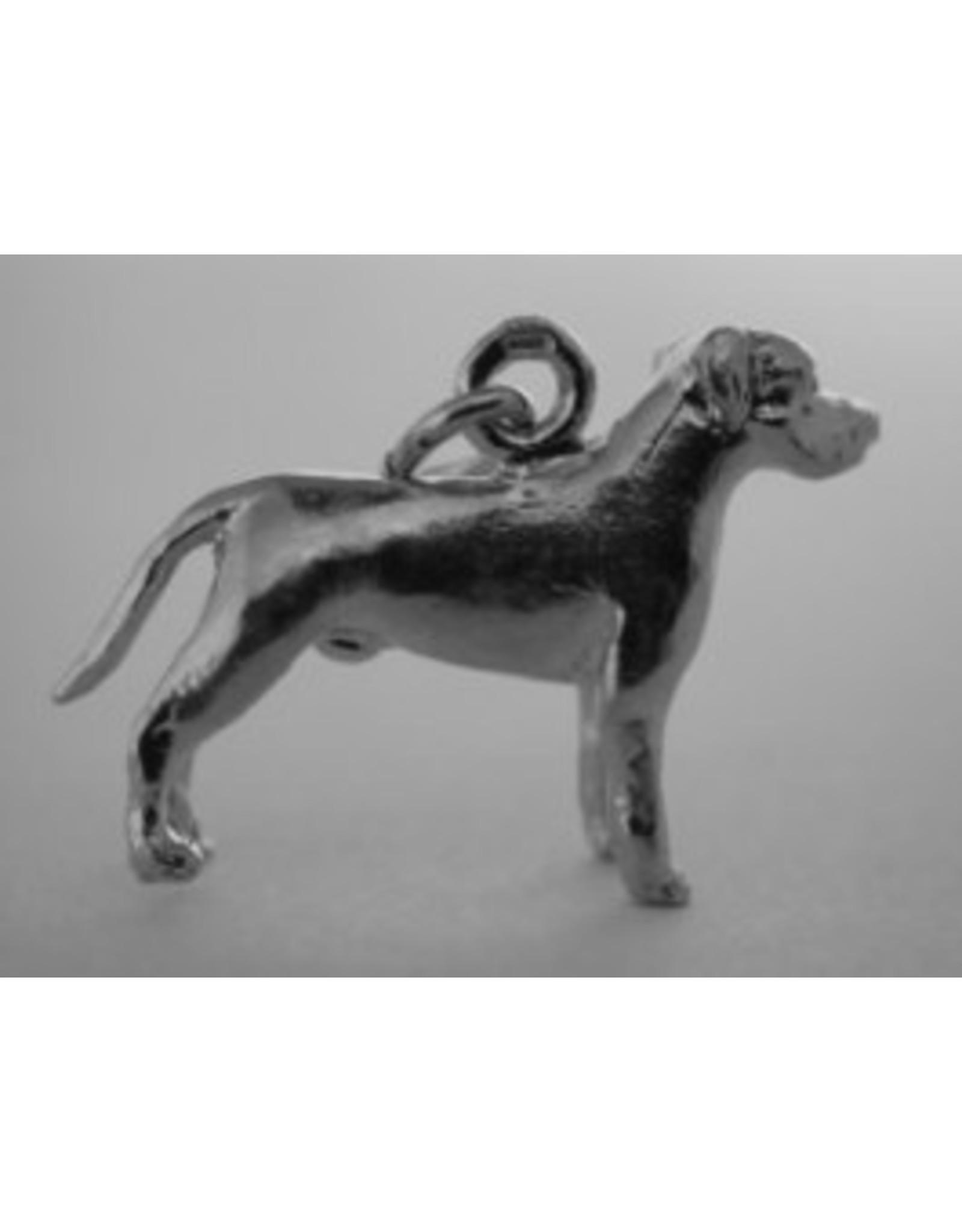 Handmade by Hanneke Weigel Sterling silver Cane corso